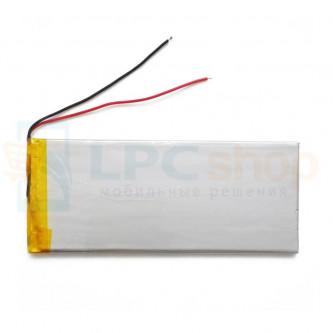Аккумулятор универсальный 3555130p 3,7v Li-Pol 3000 mAh (3.5*55*130 mm)