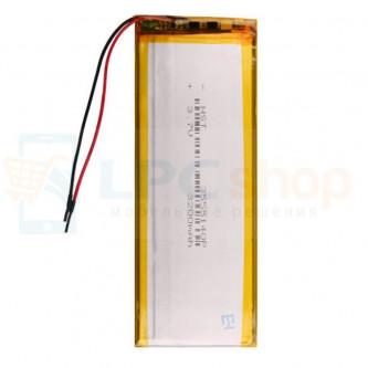 Аккумулятор универсальный 3555140p 3,7v Li-Pol 3200 mAh (3.5*55*140 mm)
