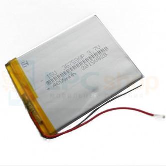 Аккумулятор универсальный 367590p 3,7v Li-Pol 4000 mAh (3.6*75*90 mm)