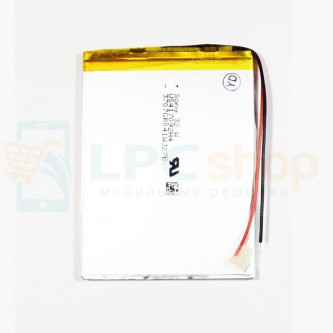 Аккумулятор универсальный 307092p 3,7v Li-Pol 2000 mAh (3*70*92 mm)