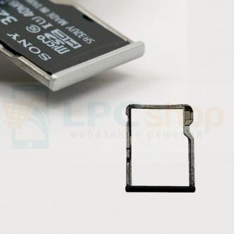 Лоток MicroSD HTC One M8 / M8s Серебро