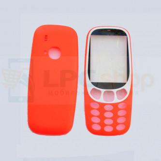 Корпус Nokia 3310 (2017) Красный + Стекло