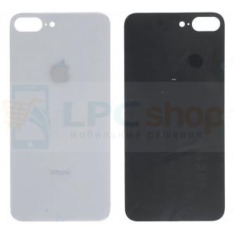 Крышка(задняя) iPhone 8 Plus (стекло) Белый