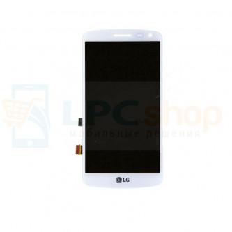 Дисплей для LG X220DS (K5) в сборе с тачскрином Белый