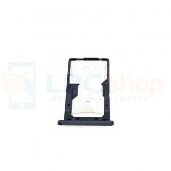 Лоток сим карты и карты памяти Xiaomi Redmi 4A Черный