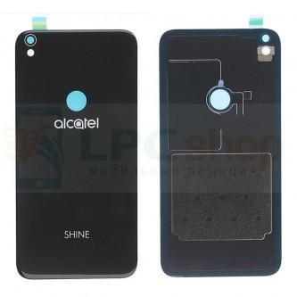 Крышка(задняя) Alcatel OT-5080X (Shine Lite) Черная