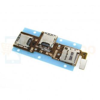 Шлейф LG K3 LTE K100DS на разъем SIM и MicroSD