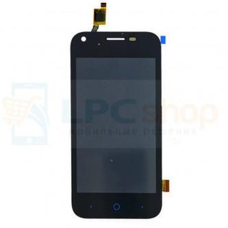 Дисплей для МТС Smart Start 3 / ZTE Blade L110 в сборе с тачскрином Черный