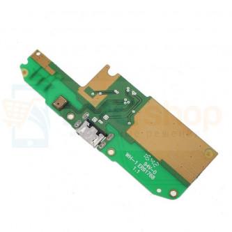 Шлейф разъема зарядки Asus ZB500KL / ZB500KG (ZenFone Go) (плата) и микрофон