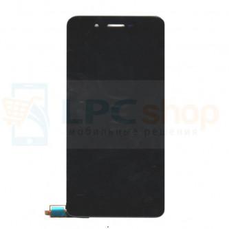 Дисплей для Micromax Q4260 Canvas Juice A1 Plus в сборе с тачскрином Черный