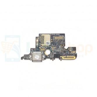 Шлейф разъема зарядки Asus ZS570KL (ZenFone 3 Deluxe) (плата) и микрофон