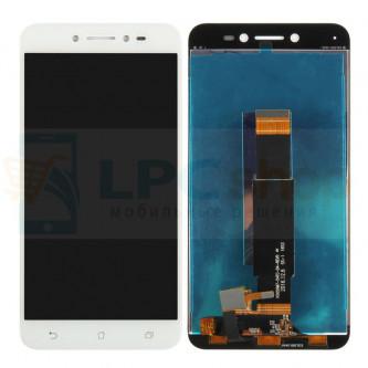 Дисплей для Asus ZB501KL (ZenFone Live) в сборе с тачскрином Белый