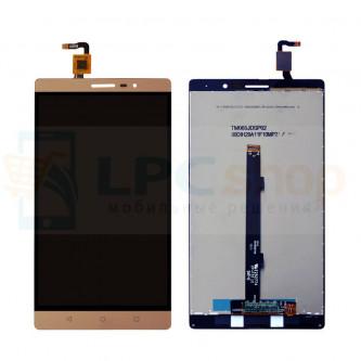 Дисплей для Lenovo Phab2 PB2-650M в сборе с тачскрином Золото