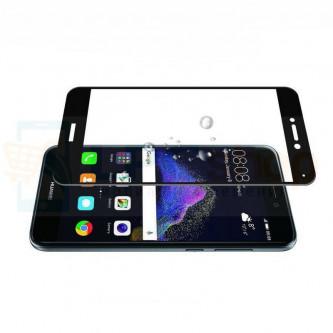 2,5D Защитное стекло (Full Screen) для Huawei Honor 8 Lite Черное (полное покрытие)