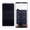 Дисплей для Xiaomi Redmi 5 Plus в сборе с тачскрином Белый