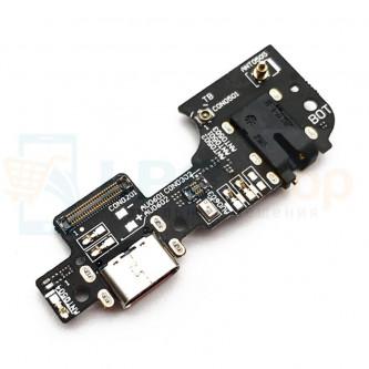 Шлейф разъема зарядки Asus ZE553KL (ZenFone 3 Zoom) (плата) на разъем гарнитуры и микрофон
