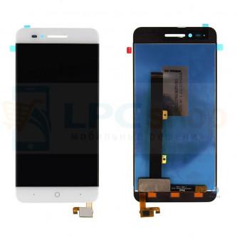 Дисплей для ZTE Blade A610 (TXDS500SHDPA-318) в сборе с тачскрином Белый