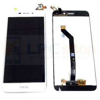 Дисплей для Huawei Honor 6C Pro (JMM-L22) в сборе с тачскрином Белый