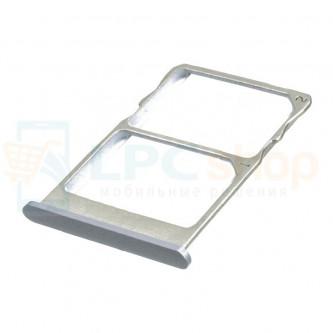 Лоток SIM Meizu MX6 Серый