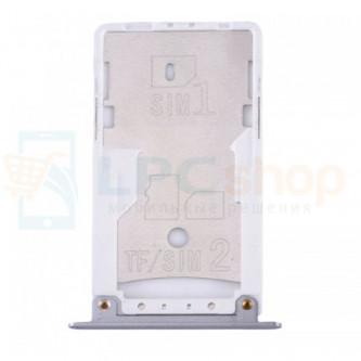 Лоток сим карты и карты памяти Xiaomi Redmi Note 4X Серый