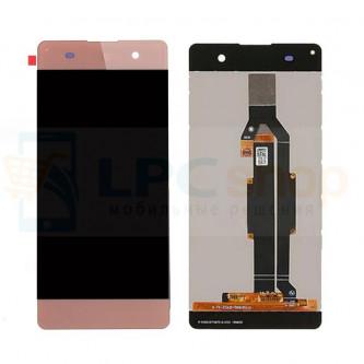 Дисплей для Sony XA F3111 / XA Dual F3112 в сборе с тачскрином Розовый