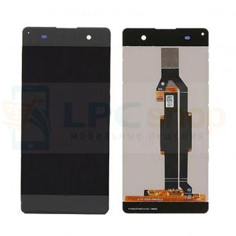 Дисплей для Sony XA F3111 / XA Dual F3112 в сборе с тачскрином Черный