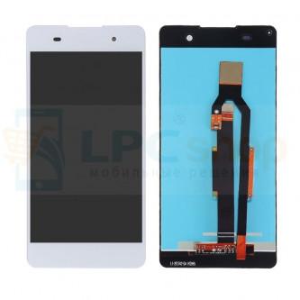 Дисплей для Sony E5 F3311 в сборе с тачскрином Белый