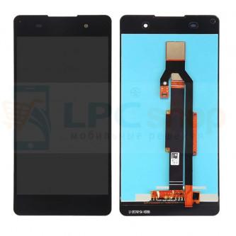 Дисплей для Sony E5 F3311 в сборе с тачскрином Черный