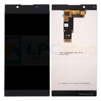 Дисплей для Sony G3311/G3312 (L1/L1 Dual) в сборе с тачскрином Черный