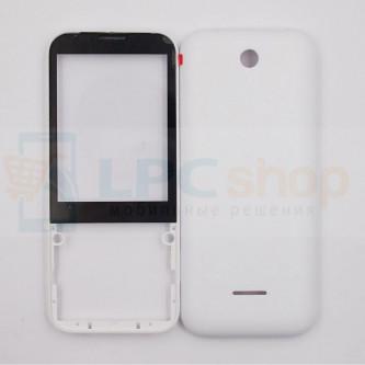Корпус Nokia 225 / 225 Dual Белый + Стекло