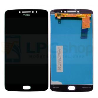Дисплей для Motorola Moto E4 Plus в сборе с тачскрином Черный