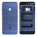 Крышка(задняя) Huawei P Smart Синия + Кнопки + Линза Камеры