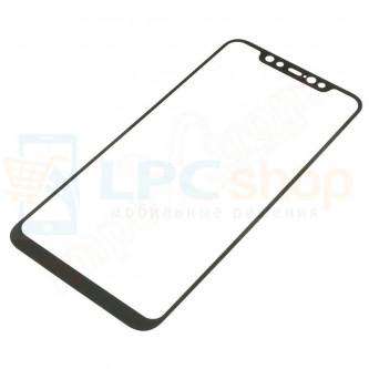 2,5D Защитное стекло (Full Screen) для Xiaomi Mi8 (Полное покрытие) Черное