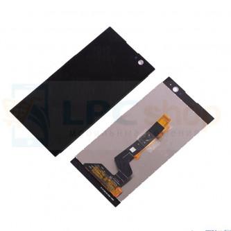 Дисплей для Sony H4113 (XA2 Dual) в сборе с тачскрином Черный