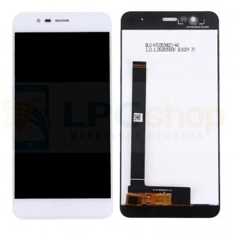 Дисплей для Asus ZC520TL (ZenFone 3 Max) в сборе с тачскрином Белый
