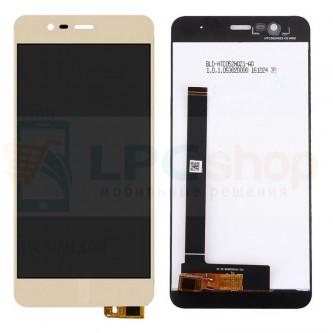 Дисплей для Asus ZC520TL (ZenFone 3 Max) в сборе с тачскрином Золото