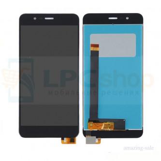 Дисплей для Asus ZC520TL (ZenFone 3 Max) в сборе с тачскрином Черный
