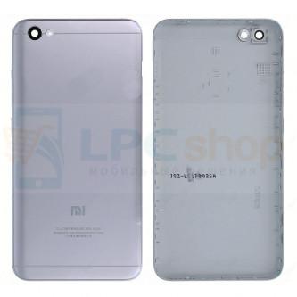 Крышка(задняя) Xiaomi Redmi Note 5A Серая (без отпечатка пальца)
