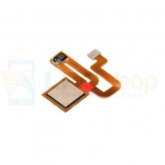 Шлейф Xiaomi Redmi Note 3 / Note 3 Pro / Note 3 Pro SE сканер отпечатка пальцев Золото