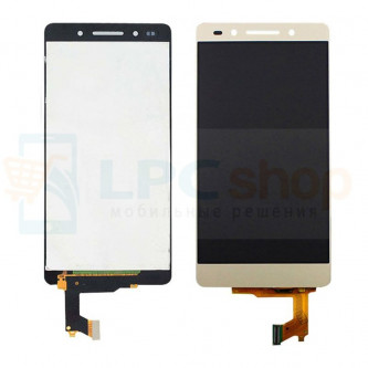 Дисплей для Huawei Honor 7i (ShotX) в сборе с тачскрином Золото