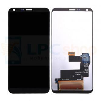 Дисплей для LG M700 (Q6 / Q6a / Q6+) в сборе с тачскрином Черный