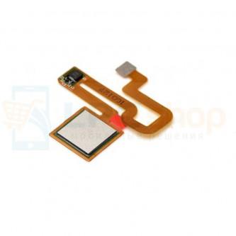 Шлейф Xiaomi Redmi Note 3 / Note 3 Pro / Note 3 Pro SE сканер отпечатка пальцев Серебро
