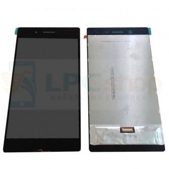 Дисплей для Lenovo Tab 3 7 Plus (TB-7703X) в сборе с тачскрином Черный