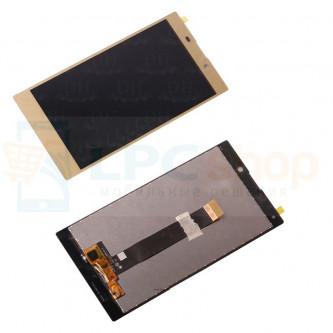 Дисплей для Sony H4311 (L2 Dual) в сборе с тачскрином Золото