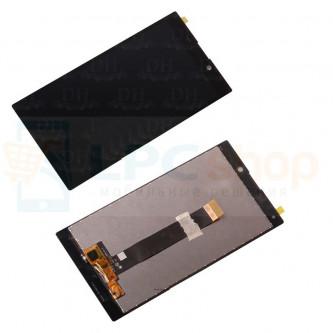 Дисплей для Sony H4311 (L2 Dual) в сборе с тачскрином Черный