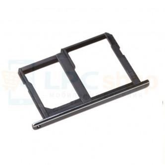 Лоток сим карты и карты памяти LG X power K220DS Черный (Black)