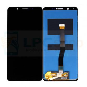 Дисплей для Vivo V7 в сборе с тачскрином Черный