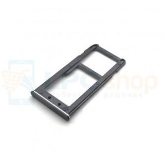 Лоток SIM Nokia 6 Черный