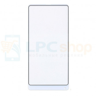 Стекло (для замены / переклейки) Xiaomi Mi Mix 2S Белое