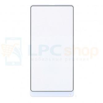 Стекло (для переклейки) Xiaomi Mi Mix 2S Белое